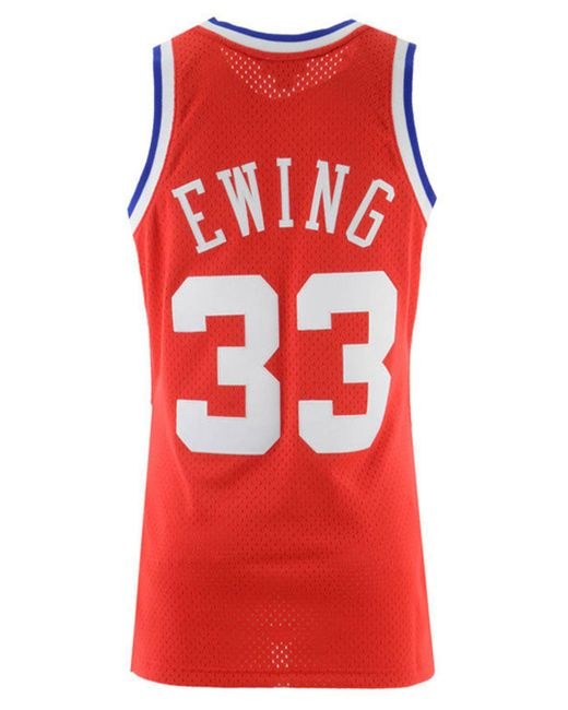 ... Mitchell   Ness - Red Patrick Ewing Nba All Star 1989 Swingman Jersey  for Men ... 6091eb273