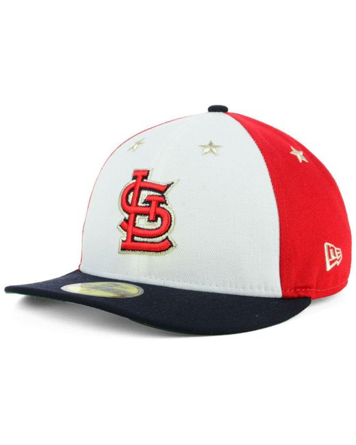 newest 968f0 abe6d ... official ktz multicolor st. louis cardinals all star game patch low  profile 59fifty fitted cap