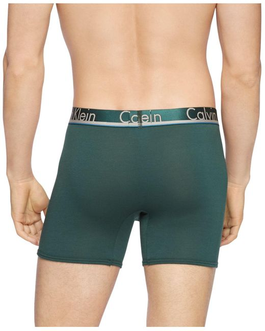 Calvin Klein White Men's 3-pk. Comfort Microfiber Boxer Briefs for men