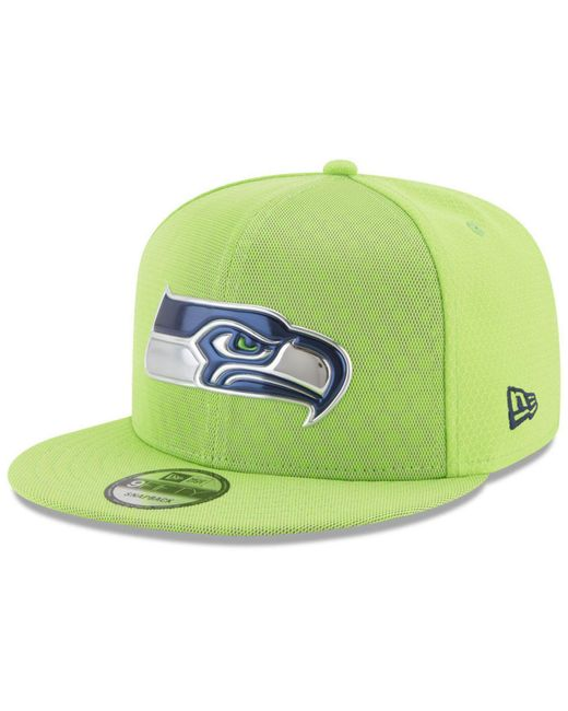 KTZ - Green On Field Color Rush 9fifty Snapback Cap for Men - Lyst