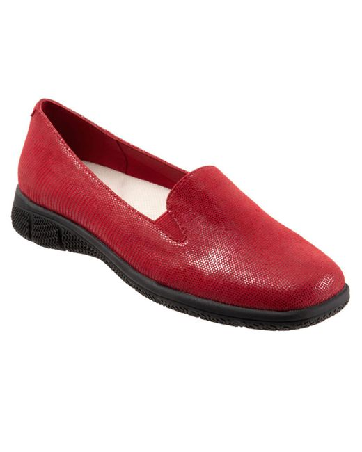 Trotters Red Universal Loafer