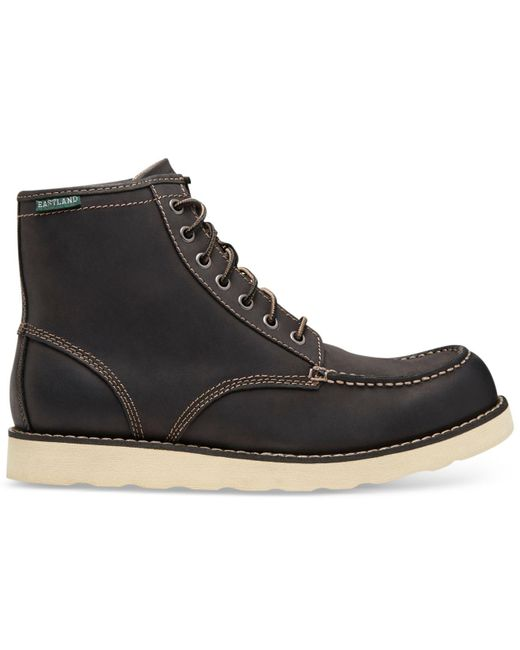 Eastland Black Men's Lumber Up Boots for men