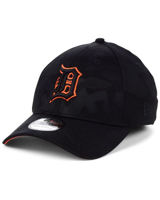 new release thoughts on in stock KTZ Synthetic Detroit Tigers Tonal Camo 39thirty Cap in Black ...