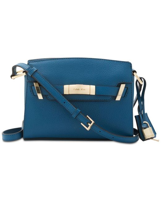 CALVIN KLEIN 205W39NYC - Blue Brooke Belted Small Bag - Lyst