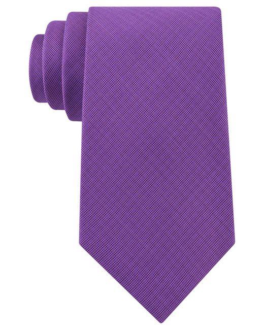 Michael Kors | Purple Men's Admiral Solid Tie for Men | Lyst