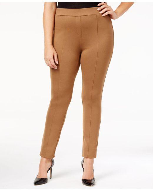 Style & Co. - Green Plus Size Seamed Leggings - Lyst