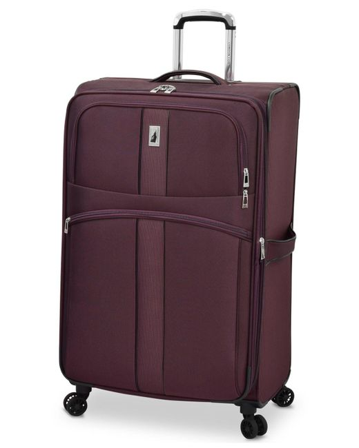 """London Fog - Purple Langley 29"""" Expandable Spinner Suitcase for Men - Lyst"""