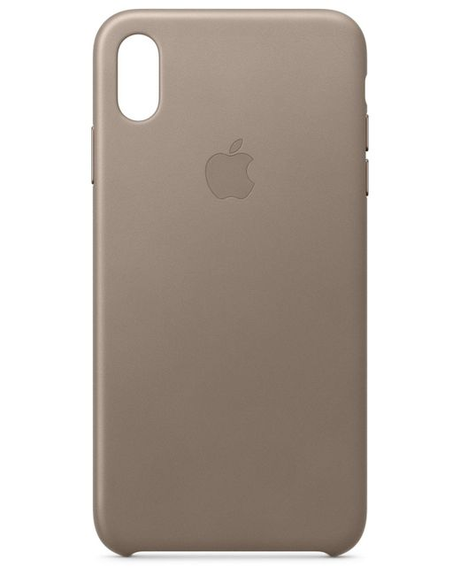 Apple - Brown Iphone Xs Max Leather Case - Lyst