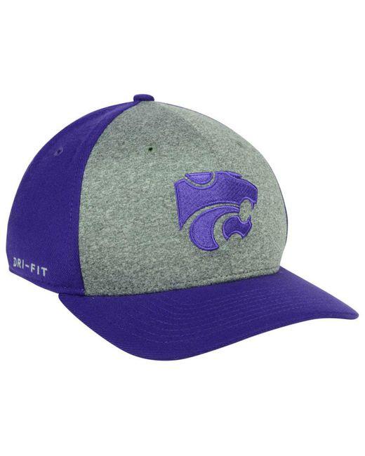newest d70c8 6c520 ... just do it swooshflex cap crimson black exspn7 0c400 b73c9  inexpensive  nike purple kansas state wildcats legend swooshflex cap for men lyst 51d6b  2cdaa