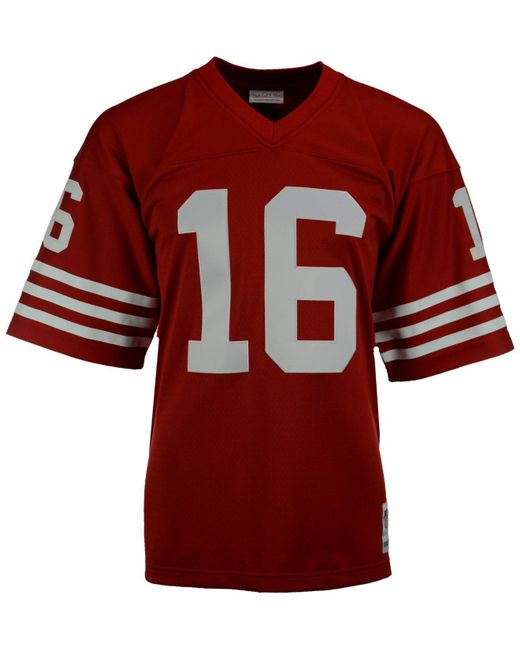 Men's Joe Montana San Francisco 49ers Replica Throwback Jersey