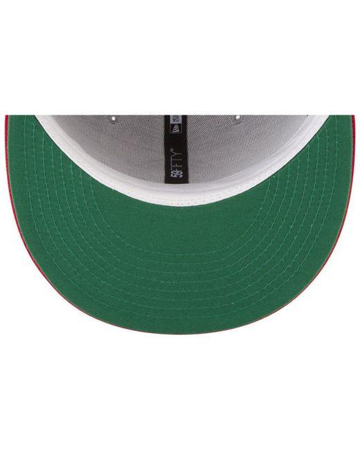 2490443e15b ... best ktz multicolor texas rangers batting practice wool flip 59fifty  fitted cap for men lyst 9c889