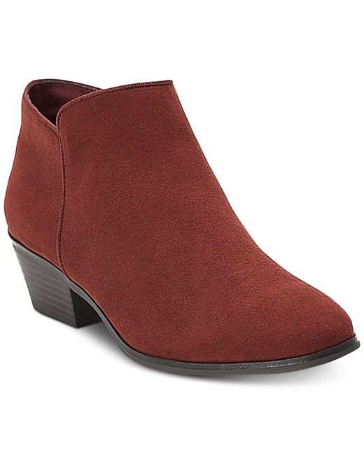 Style & Co. - Red Wileyy Ankle Booties, Created For Macy's - Lyst