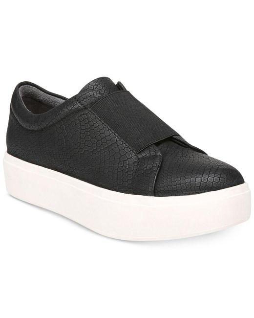 Dr. Scholls | Black Kinney Band Sneakers | Lyst