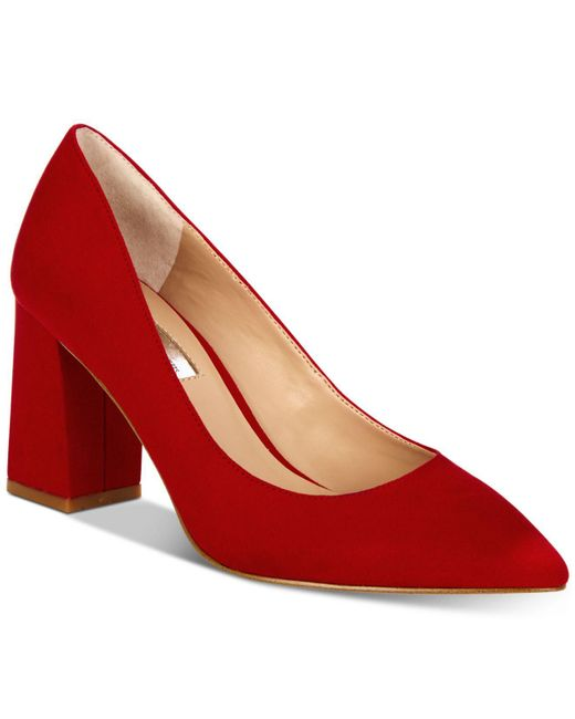 INC International Concepts - Red I.n.c. Bahira Block-heel Pumps, Created For Macy's - Lyst