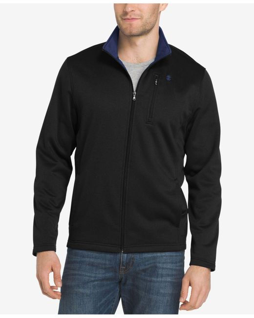 Izod - Black Men's Advantage Performance Jacket for Men - Lyst