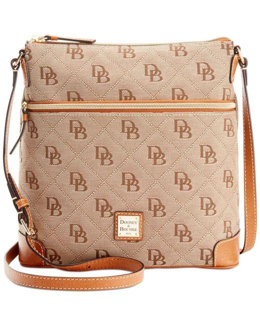 Dooney & Bourke | Natural Maxi Quilt Americana Signature Crossbody | Lyst
