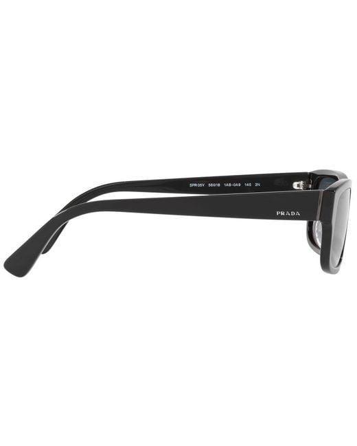 Prada Pr 05Vs Heritage Sonnenbrille Herren Sonnenbrille
