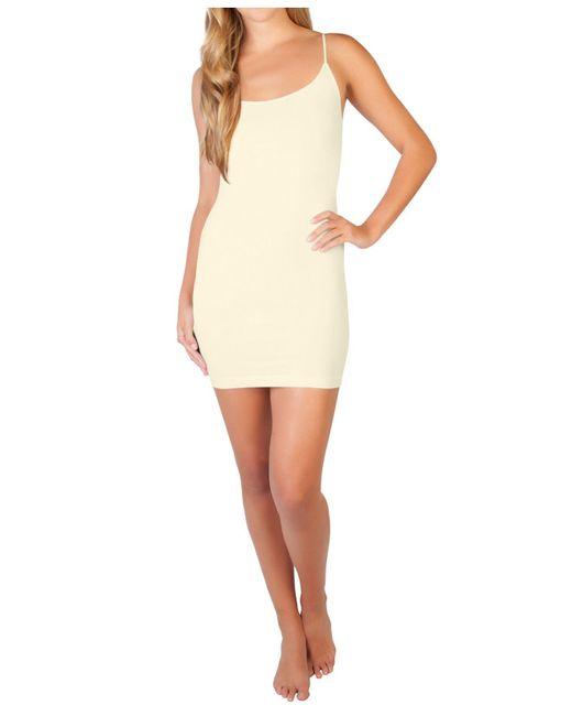 Skinnytees White Cami Dress
