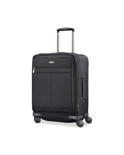 Hartmann - Black Century Expandable Carry-on Spinner Suitcase for Men - Lyst