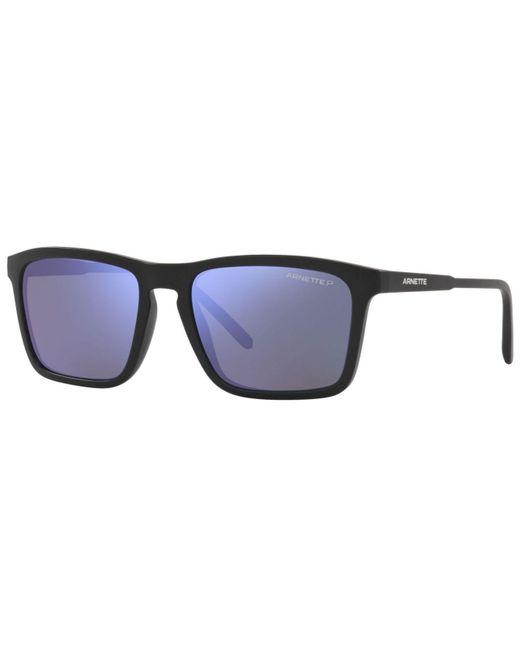 Arnette Multicolor Polarized Sunglasses, An4283 56 for men