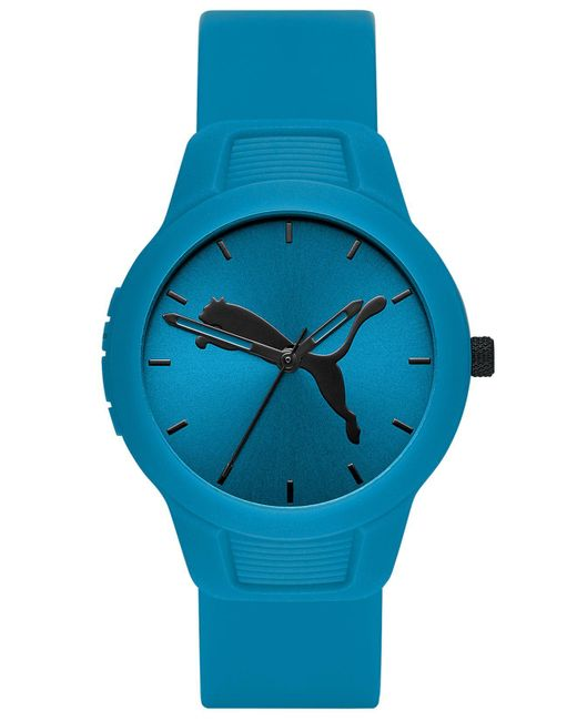 PUMA Blue Reset Polyurethane Strap Watch 36mm