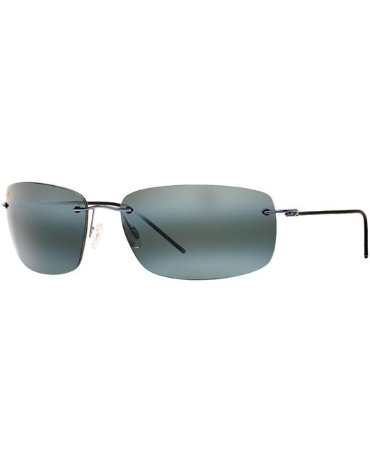 Maui Jim | Metallic Sunglasses, Mj Frigate 65 | Lyst