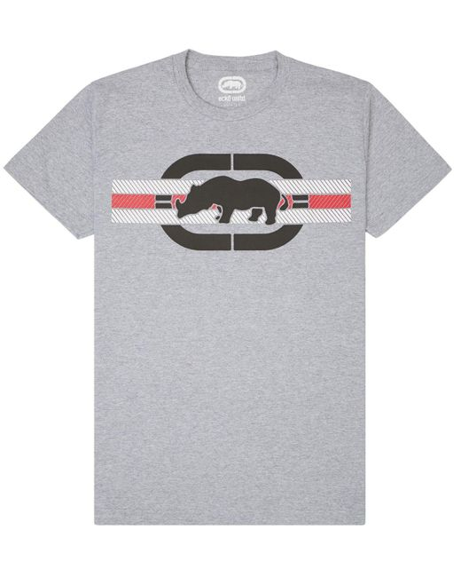 Ecko' Unltd Gray Free Bands Tee for men