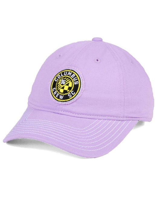 cheap for discount e0357 c5712 Adidas - Purple Columbus Crew Sc Pink Slouch Cap - Lyst ...
