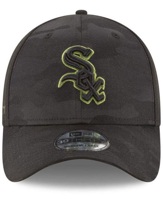 ... KTZ - Black Chicago White Sox Memorial Day 39thirty Cap for Men - Lyst  ... b00710d3765