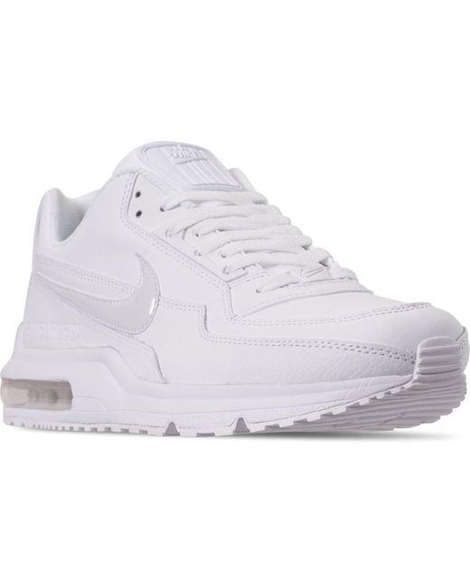 timeless design fcc24 20dbc White Men's Air Max Ltd 3 Running Sneakers From Finish Line