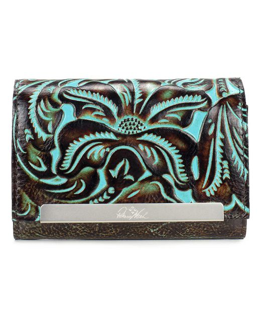 Patricia Nash - Multicolor Turquoise Tooled Cametti Wallet - Lyst