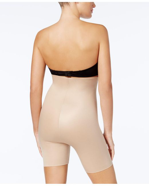 561cf14408a ... Spanx - Natural Power Conceal-her High-waisted Thigh Slimmer 10132r -  Lyst
