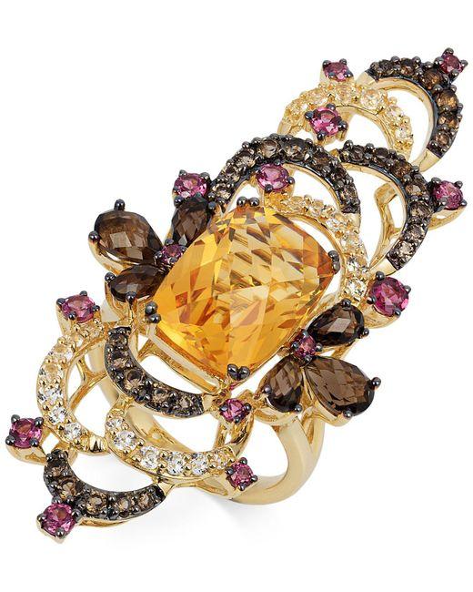 Le Vian | Multicolor Multi-stone Ring (9-1/4 Ct. T.w.) In 14k Gold | Lyst