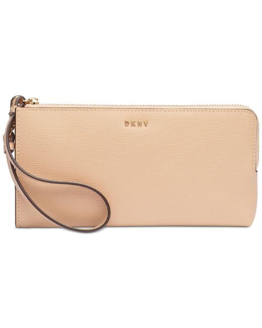 DKNY - Natural Bryant Medium Zip Pouch, Created For Macy's - Lyst