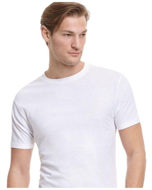 Alfani White Men's Crew-neck T-shirt for men