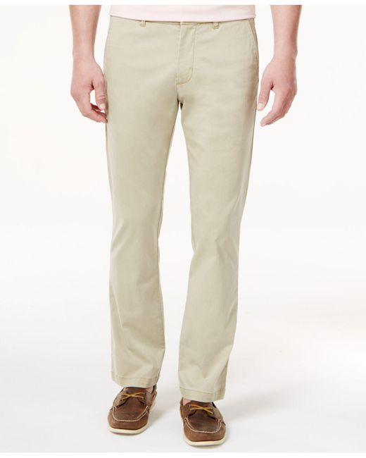 Tommy Bahama - Natural Men's Boracay Flat Front Stretch Pants for Men - Lyst