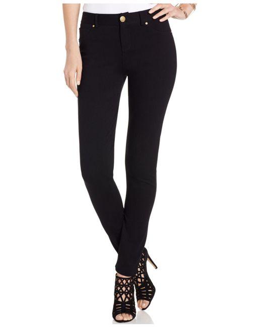 INC International Concepts | Black Petite Skinny-fit Ponte Pants | Lyst
