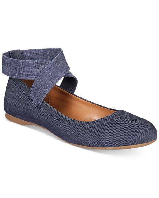 Style & Co. | Blue Beaa Ballet Flats | Lyst