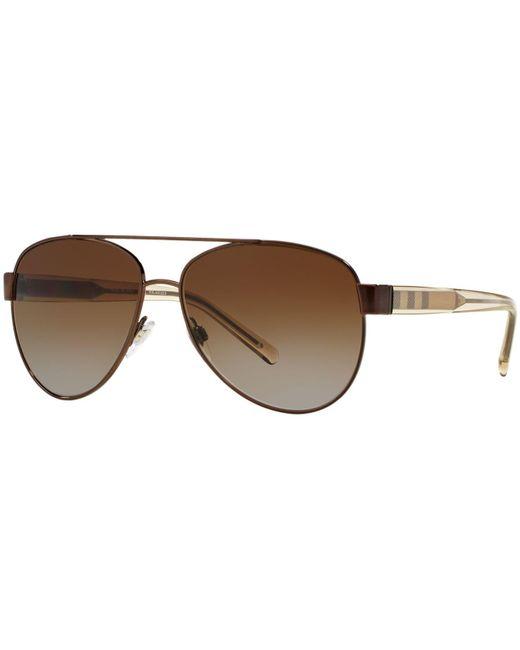 66ba91b6eeee Burberry - Brown Sunglasses