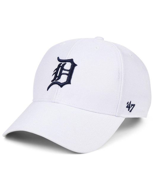 the latest cd228 afb49 47 Brand - Detroit Tigers White Mvp Cap - Lyst ...