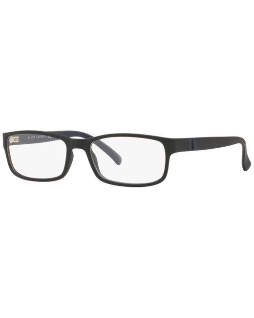 Polo Ralph Lauren Multicolor Rectangle Eyeglasses for men