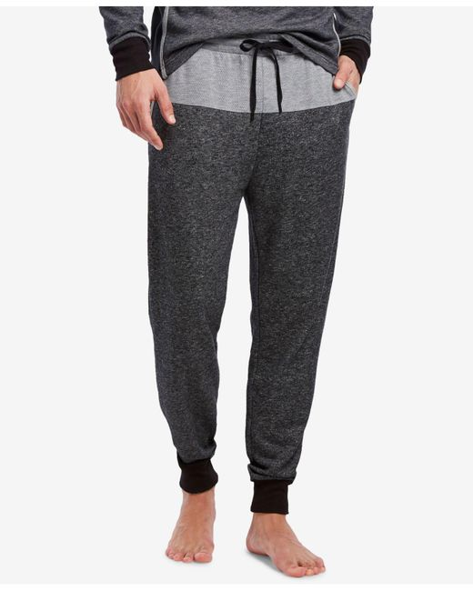 2xist - Black Colorblocked Terry Joggers for Men - Lyst