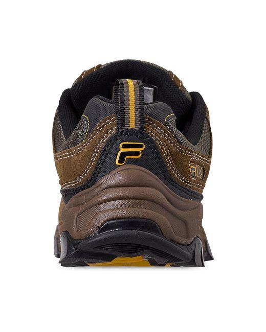 5e70049da ... Fila - Multicolor Country Plus Casual Hiking Boots From Finish Line for  Men - Lyst ...