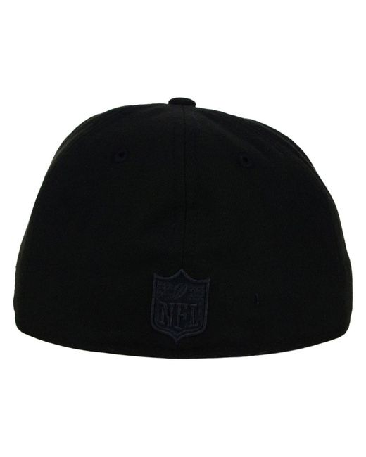 Lyst - KTZ Seattle Seahawks Black On Black 59fifty Cap in Black for Men ca4b81a453fc