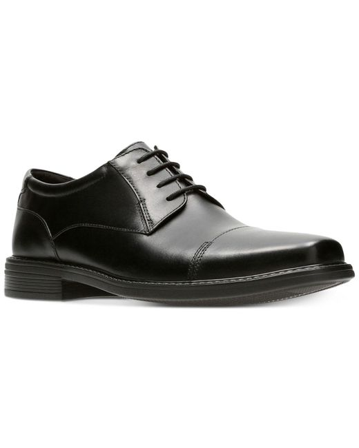 Bostonian   Men's Wenham Black Leather Dress Cap-toe Oxfords for Men   Lyst