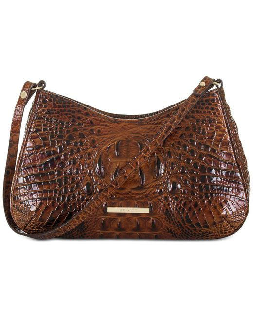 Brahmin | Brown Melbourne Ani Shoulder Bag | Lyst