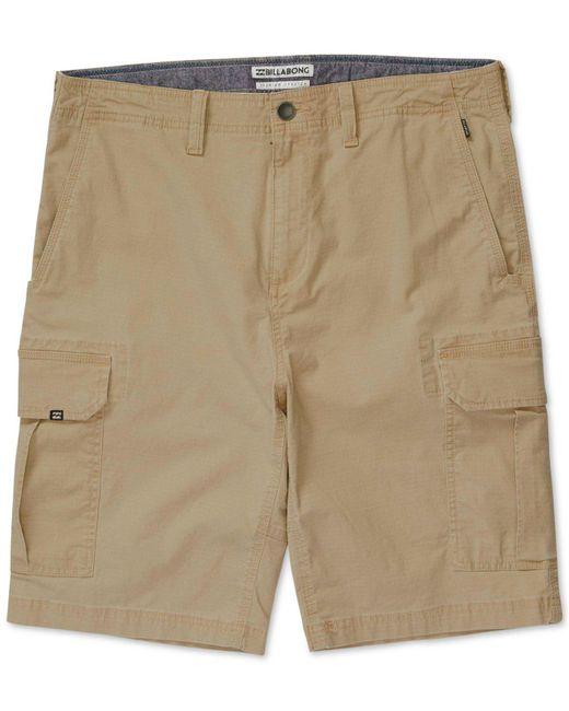 Billabong | Natural Men's Scheme Classic-fit Cargo Shorts for Men | Lyst