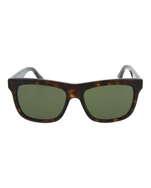 Gucci Multicolor Square-frame Acetate Sunglasses
