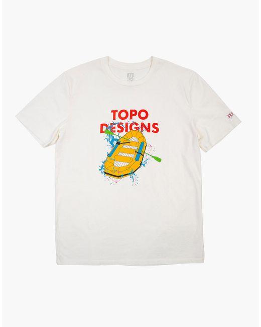 MW Natural Topo Designs® Raft Tee for men