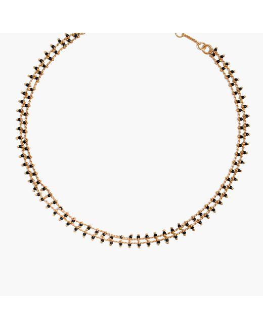 Madewell | Metallic Beadlink Choker Necklace | Lyst